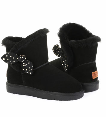 Ugg Natalie Bow Boot Black