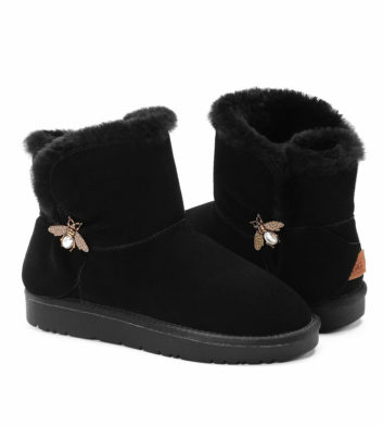 Ugg Laura Mini Boot Honey Black