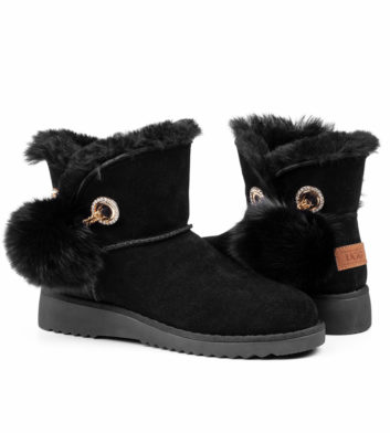 Ugg Jill Mini Slim Boot Black