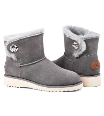 Ugg Paula Mini Buckle Boot Grey