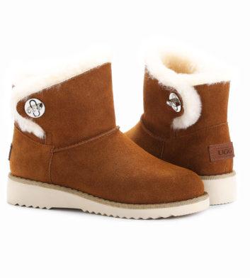 Ugg Paula Mini Buckle Boot Chestnut