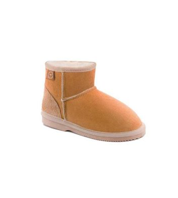 Kids Mini Ugg Chestnut Front