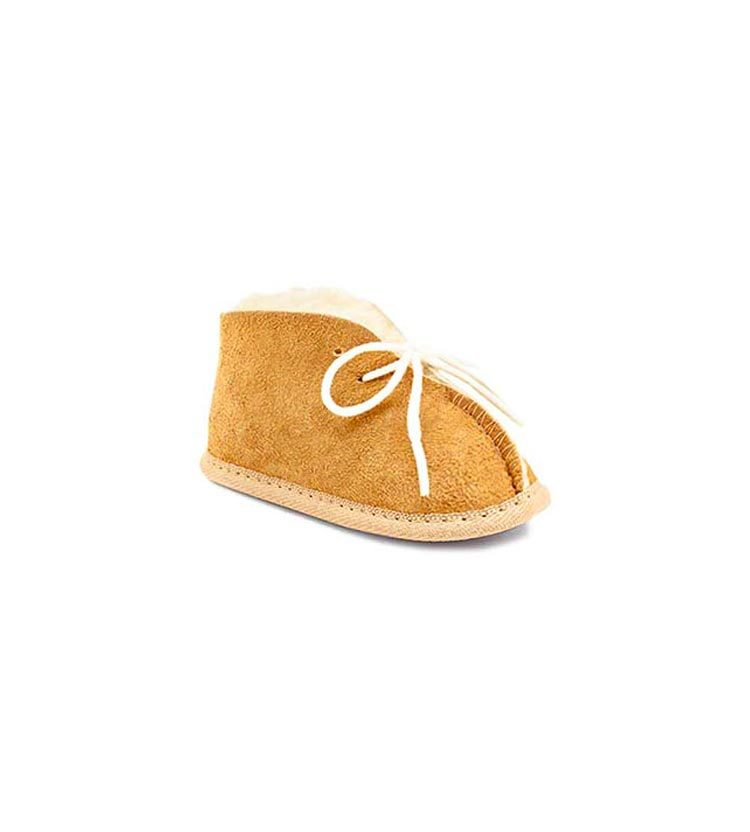 Ugg Baby Booties Chestnut Front