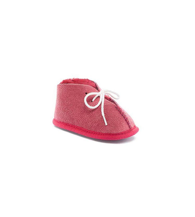 Ugg Baby Booties Pink Front