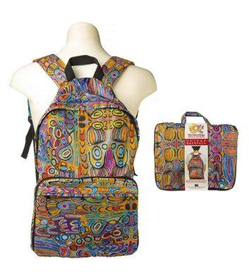 Judy Watson Folding Backpack