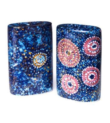 Alma Granites Salt & Pepper Shakers
