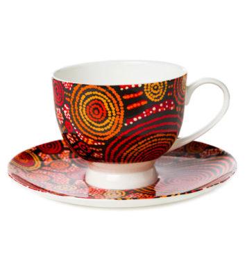 Teddy Gibson Tea Cup & Saucer