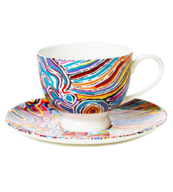Judy Watson Tea Cup & Saucer
