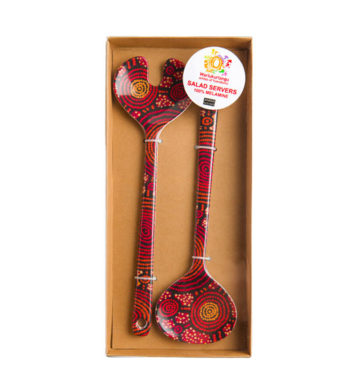 Teddy Gibson Salad Server Set