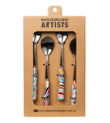 Judy Watson Ju Ceramic Tea Spoon Set