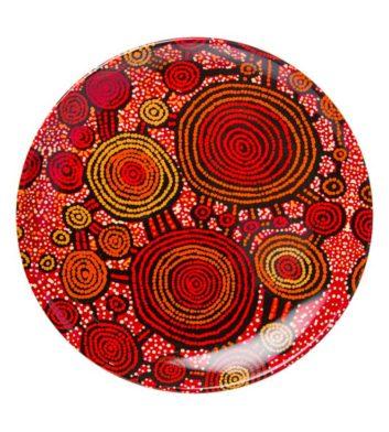 Teddy Gibson Aboriginal Plate