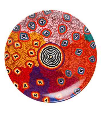 Ruth Stewart Aboriginal Plate