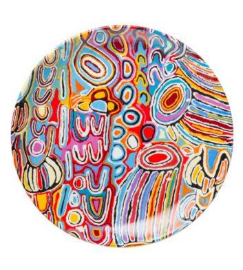 Judy Watson Ju Aboriginal Plate