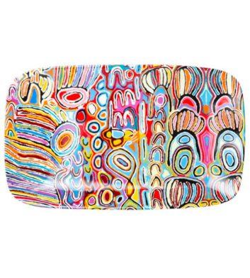 Judy Watson Ju Aboriginal Platter