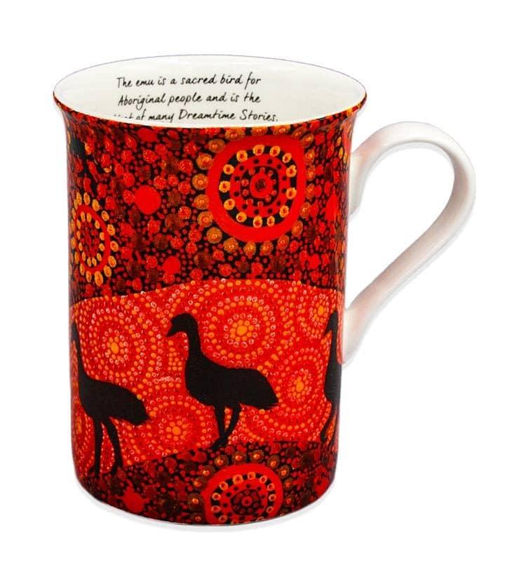 Emus Of Finniss Springs Mug