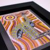 Framed Emu Art