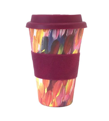 Reusable Coffee Cup - Gloria Petyarre