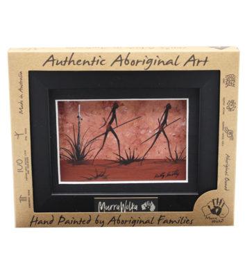 Aboriginal Framed Landscape Art