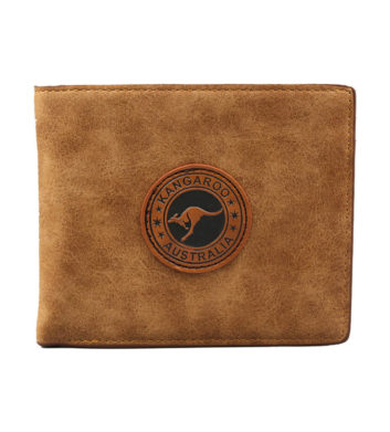 Kangaroo Badge Wallet