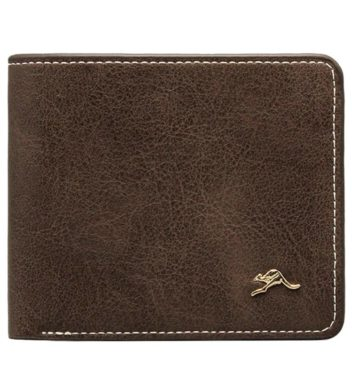 Matte Roo Pin Mens Wallet