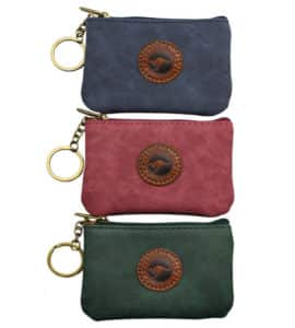 Suede Colour Coin Bag Rectangle