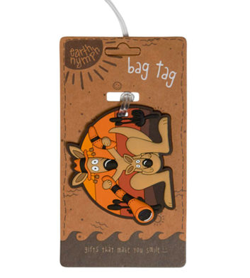 Kangaroo & Didgeridoo Luggage Tag