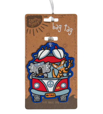 Australia Surfari Luggage Tag