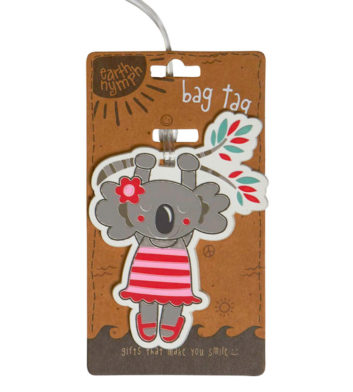 Hanging Around Koala Luggage Tag