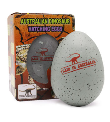 Dinosaur Hatching Egg