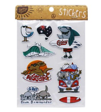 Kids Surf Sticker Pack