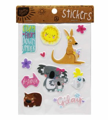 Girls Australiana Sticker Pack