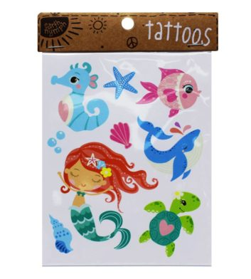 Girls Coastal Tattoo Pack