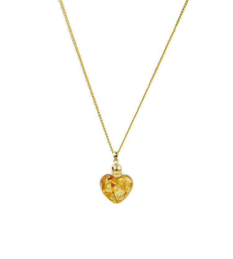 Australian Gold Heart Necklace