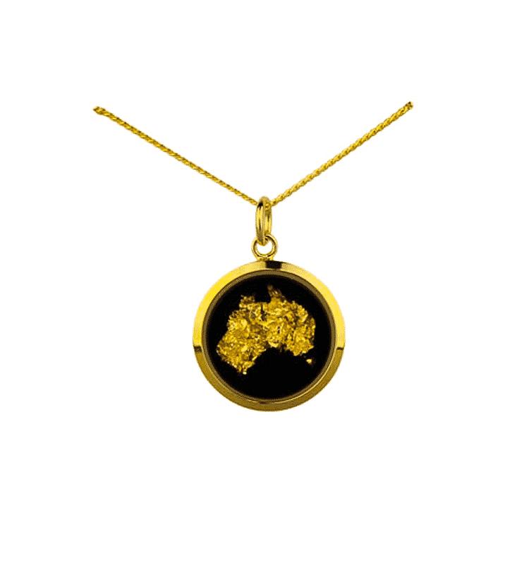 Gold Leaf Australia Map