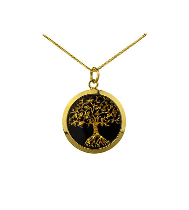 Gold tree of life pendant australia the gift australian gold tree of life pendant aloadofball Image collections