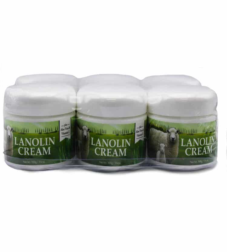 Lanolin Cream Bulk Pack 6 x 100ml