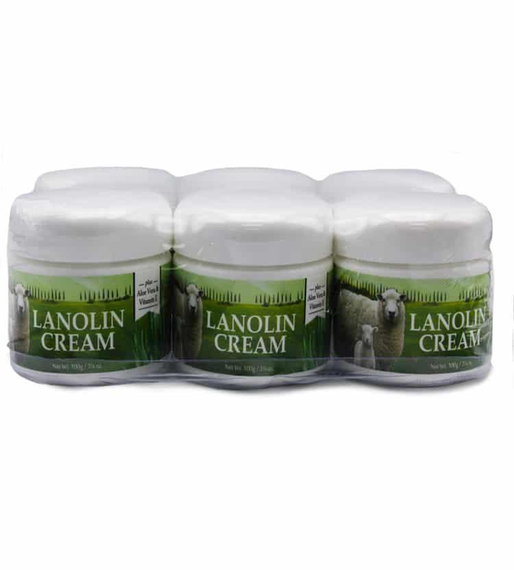 Lanolin Cream Bulk Pack 6 x 100ml