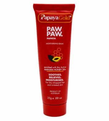 91204 Papaya Gold Paw Paw Moisturising Balm