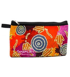 Aboriginal Pencil Case Orange