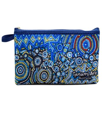 Aboriginal Pencil Case Navy