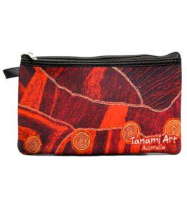 Aboriginal Pencil Case Red