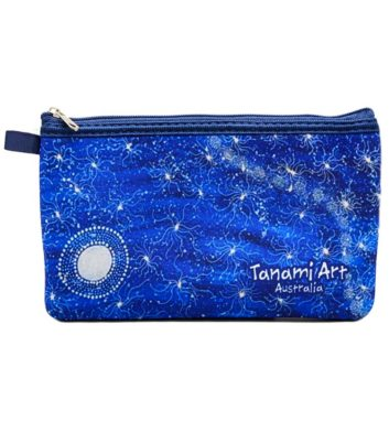 Aboriginal Pencil Case Blue