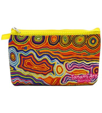 Aboriginal Pencil Case Yellow