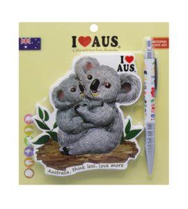 Koala & Baby Notebook & Pen Set