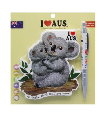 Koala & Baby Notebook & Pen Set