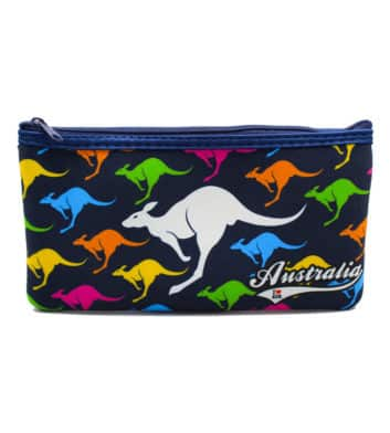 Colourful Kangaroo Pencil Case