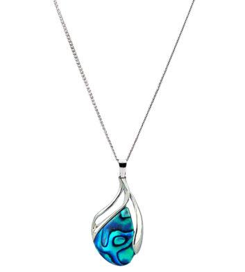 Paua Shell pendant necklace