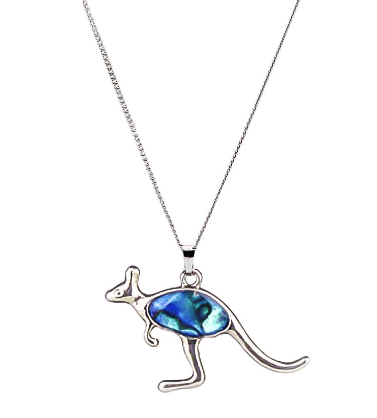 Kangaroo Paua Shell Necklace