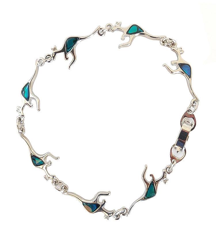 Kangaroo Paua Shell Bracelet