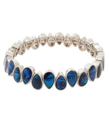 Paua Shell Teardrops Bracelet
